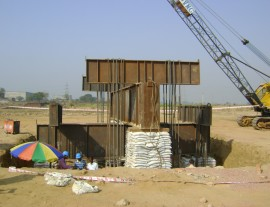 Agra Pile load test